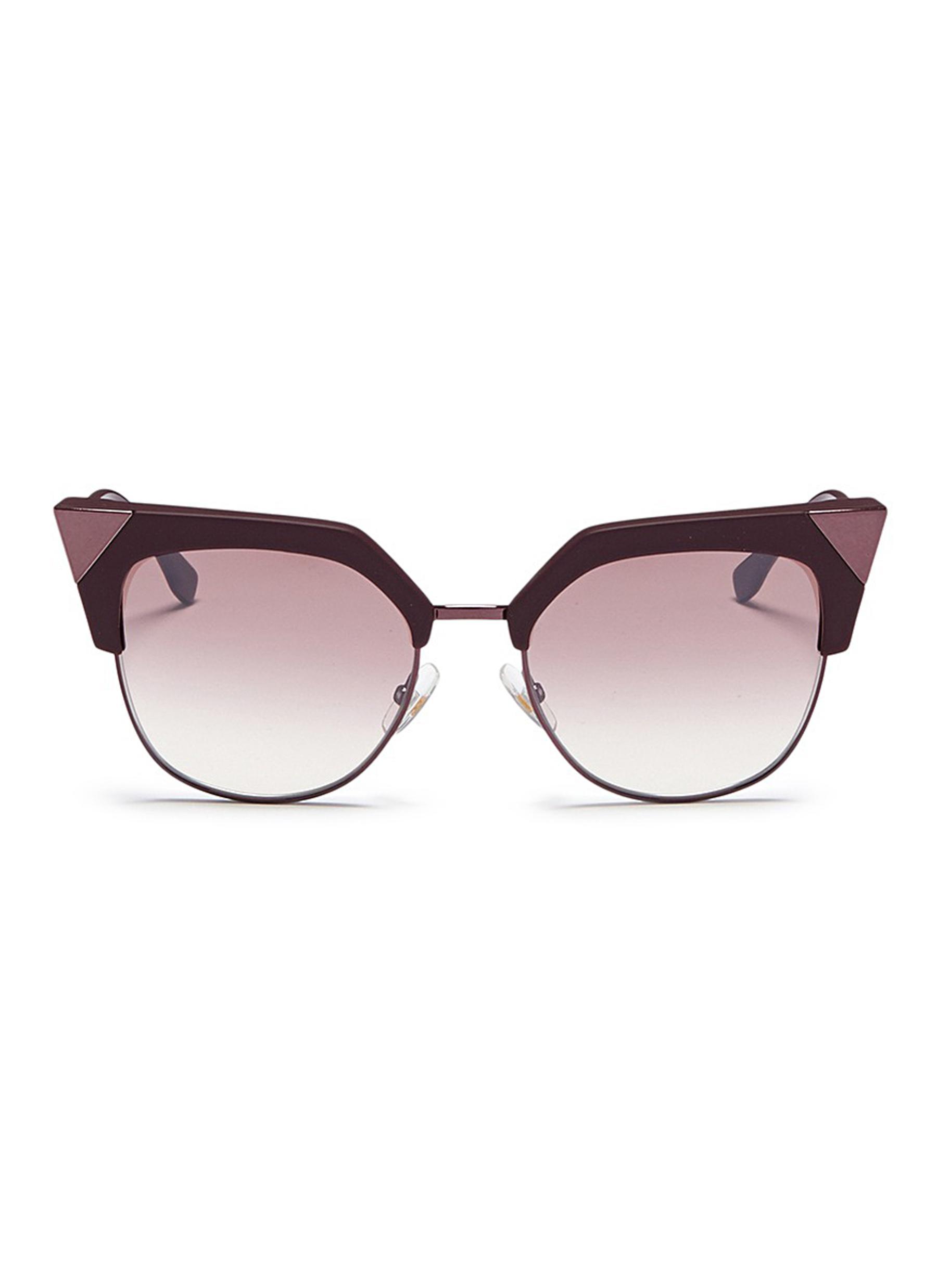 Iridia sunglasses - Metallic Fendi eYnnk1