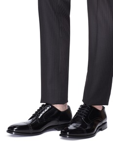 Jimmy Choo 'Penn' patent leather oxfords