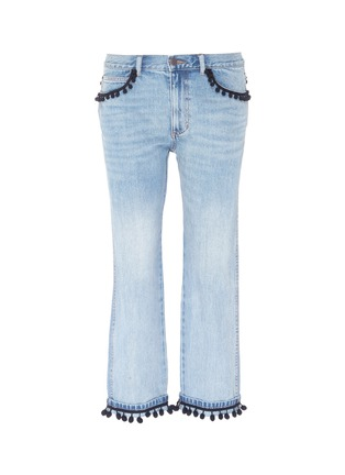 Main View - Click To Enlarge - Marc Jacobs - Pompom jeans
