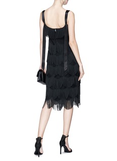Marc Jacobs Scalloped fringe party dress