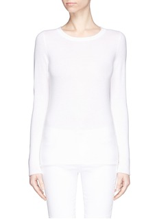 J. CREW Collection cashmere long-sleeve tee
