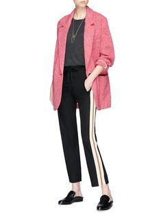 Isabel Marant Étoile 'Floyd' oversized wool blend blazer