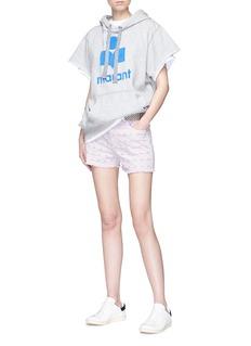 ISABEL MARANT ÉTOILE Felsey刺绣镂空牛仔短裤