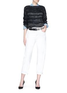 Isabel Marant Étoile 'Grace' boat neck alpaca blend sweater