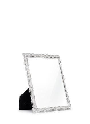- LANE CRAWFORD - Rhinestone cutout metal 8R photo frame
