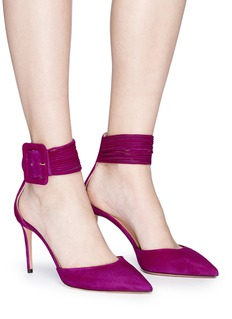 Aquazzura 'Casablanca 85' suede pumps