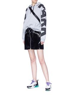 Ivy Park Logo print raglan sleeve hoodie