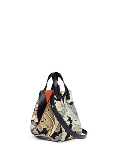 Loewe 'Hammock Camo' acanthus leaves print small canvas bag