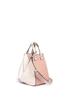 Loewe 'Hammock' colourblock small calfskin leather bag