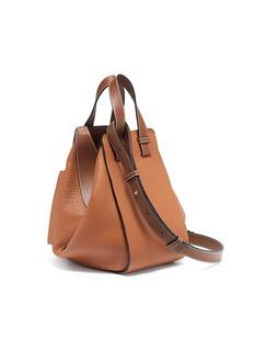 Loewe 'Hammock' small grainy calfskin leather bag