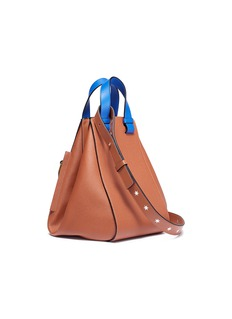 Loewe 'Hammock Stars' colourblock calfskin leather bag