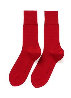 FALKETIAGO单色混棉袜子