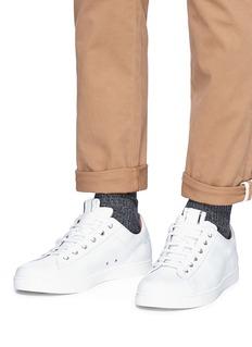 Gianvito Rossi 'David' calfskin leather sneakers