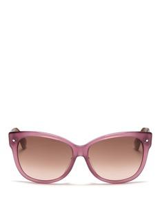 DIORSquared cat eye plastic frame sunglasses