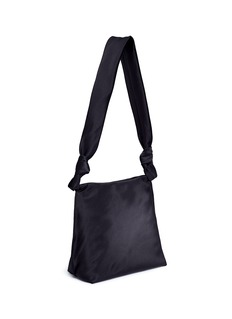 The Row 'Wander' small satin shoulder bag
