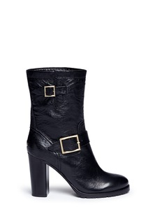 Jimmy Choo 'Dart' leather biker boots