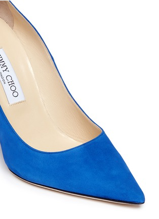 Detail View - Click To Enlarge - Jimmy Choo - 'Abel' suede pumps