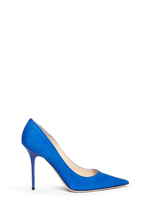 Main View - Click To Enlarge - Jimmy Choo - 'Abel' suede pumps