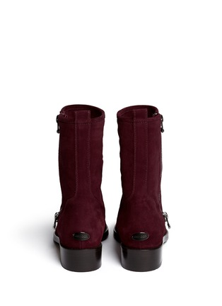 Back View - Click To Enlarge - Jimmy Choo - 'Disguise' buffed toe suede boots