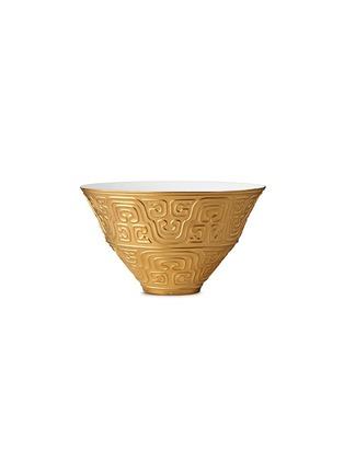 首图 –点击放大 - L'OBJET - 镀金雕花瓷碗