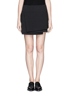 HELMUT LANG Structured layer skirt