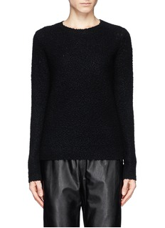 THEORY 'Jaidyn' bouclé wool blend sweater