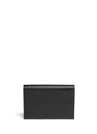 Back View - Click To Enlarge - Alexander Wang  - 'Prisma' leather flap pouch