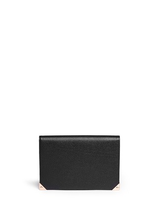 Main View - Click To Enlarge - Alexander Wang  - 'Prisma' leather flap pouch