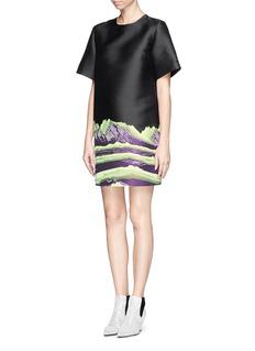 ALEXANDER WANG Mountain jacquard shift dress