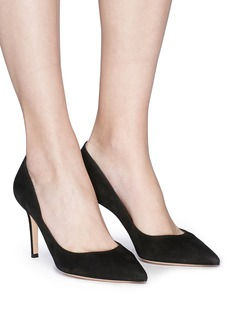 Gianvito Rossi 'Gianvito 85' suede pumps