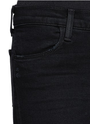 Detail View - Click To Enlarge - J Brand - 'Super Skinny' distressed jeans