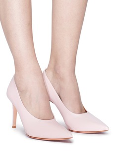 Gianvito Rossi 'Muriel' choked-up leather pumps