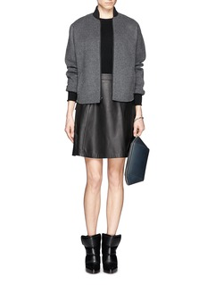 ALEXANDER WANG 'Chastity' large heat sensitive leather pouch