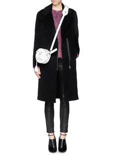 ALEXANDER WANG 'Runway Canteen' round leather shoulder bag