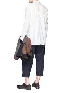 ZIGGY CHEN 搭叠拼接设计衬衫