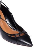 'Seduce Me' leather lace-up pumps