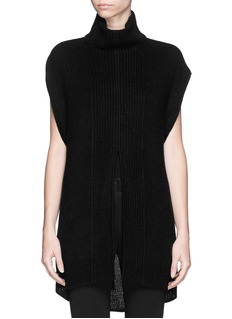 3.1 PHILLIP LIM Cashmere-alpaca-silk knit sweater