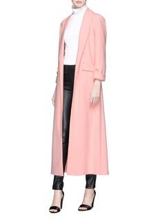 alice + olivia 'Angela' open front crepe coat