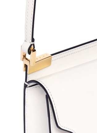 Detail View - Click To Enlarge - Marni - 'Trunk' calfskin leather micro shoulder bag