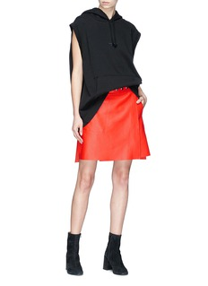 Acne Studios 'Shirin' lambskin leather wrap skirt