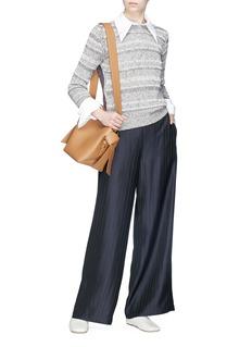 Acne Studios 'Tennessee' pinstripe twill wide leg pants