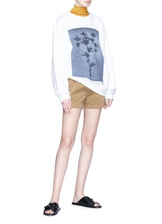 Acne Studios 'Follow' floral print sweatshirt
