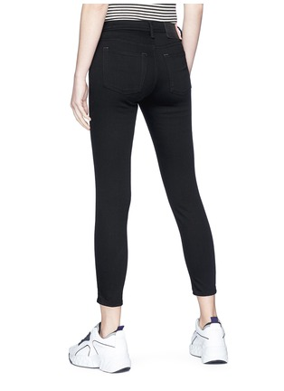Back View - Click To Enlarge - Acne Studios - 'Climb' cropped skinny jeans