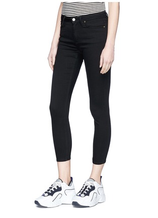 Front View - Click To Enlarge - Acne Studios - 'Climb' cropped skinny jeans