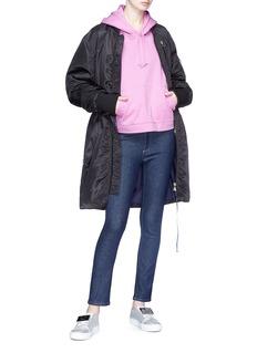 Acne Studios 'Ahline' elastic waist padded bomber jacket