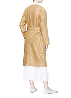Acne Studios 'Anghelica Gab' double breasted twill trench coat