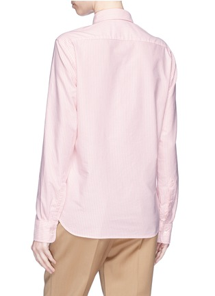 Back View - Click To Enlarge - Acne Studios - 'Ohio Face' patch safari shirt