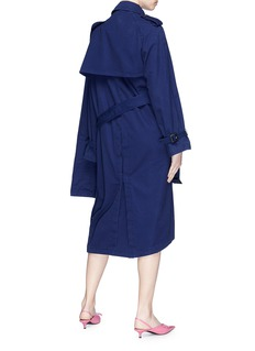 Balenciaga Pulled belted trench coat