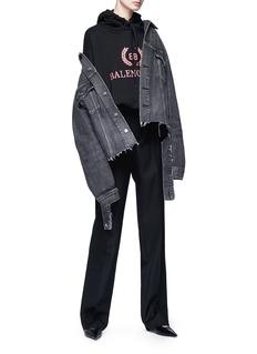 Balenciaga Wide leg masculine suiting pants