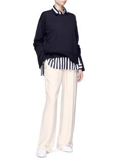 Ms MIN Stripe cotton shirt